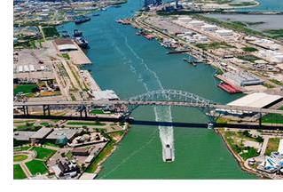 PORT OF CORPUS CHRISTI An aerial view of Port Corpus Christi. This week's South Texas Drilling Permit Roundup takes a look at the top oil drillers in Corpus Christi and surrounding cities.