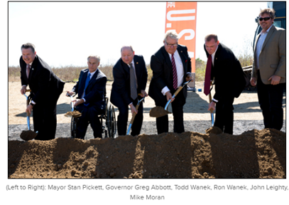 Image of ground breaking ceremony