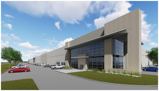 Industrial Building Rendering