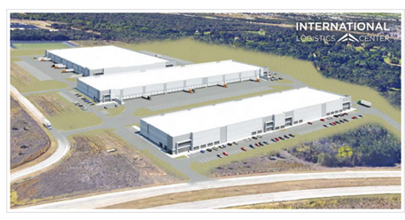 rendering of International Logistics Park