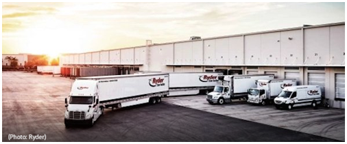 Ryder truck distribution Fort Worth