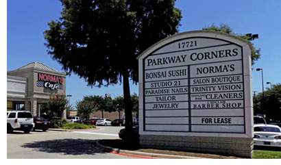 Image of parkway corners
