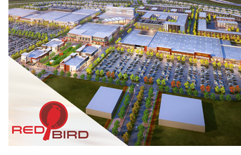 Rendering of Red Bird Mall Redevelopment