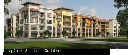 Rendering of Harbor Urban Center Apartments