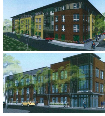 Rendering of Mistletoe Station Apartments