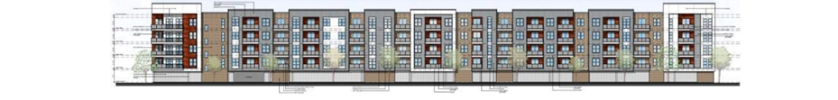 rendering of The View of Fort Worth apartment complex