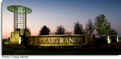 Craig Ranch sign