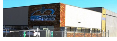Image of Med-Trans' new Denton HQ