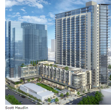Rendering of The Union Dallas