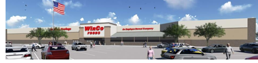 Rendering of new WinCo store