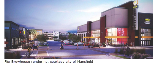 Rendering of Flix Brewhouse in The Shops at Broad