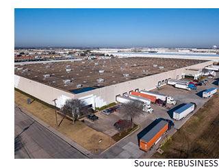 Eastpoint Distribution Center in east Dallas