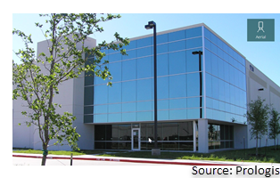 Street view of the Prologis Freeport Corporate Center