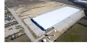 Industrial space in the DFW area.
