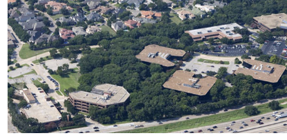 Image of Brinker International's old LBJ campus
