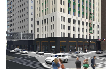 Rendering of Cambria Downtown Dallas