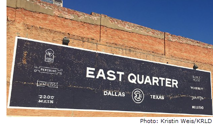 Image of the East Quarter Sign