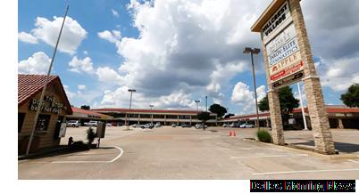Hillcrest Village retail center in far north Dallas.