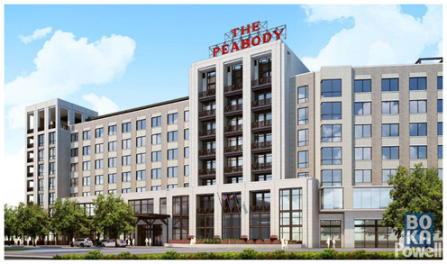 Architectural rendering of the proposed Peobody Roanoke