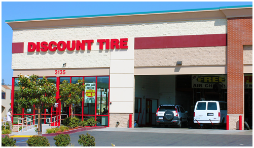 Discount Tire retail store