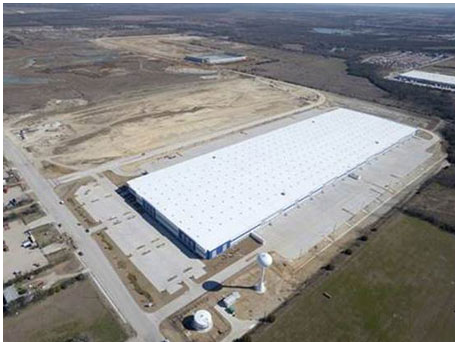 Aerial view of Southpark Logistics Park