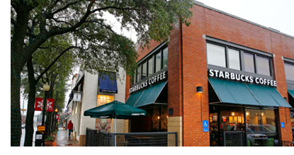 Image of Startbucks on Knox Street