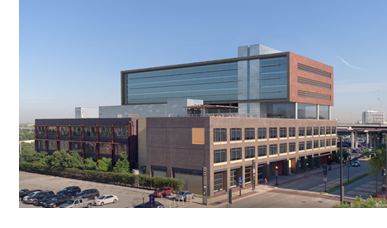 A rendering of the Luminary Building in Downtown Dallas