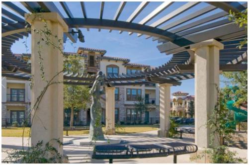 Courtyard of PURE at La Villita