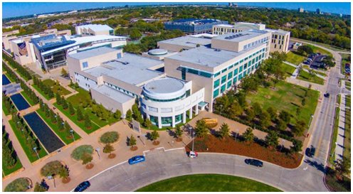 Aerial view of Synergy Park