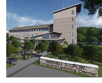 The Trammell S. Crow Living and Learning Center
