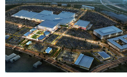 Rendering of the Red Bird Mall redevelopment.