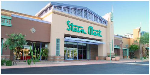 Streetview of Stein Mart