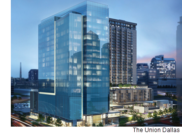 The Union Dallas, a rendering of