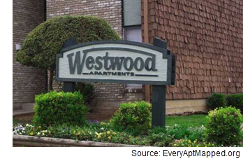 Image of Westwood Apartments.