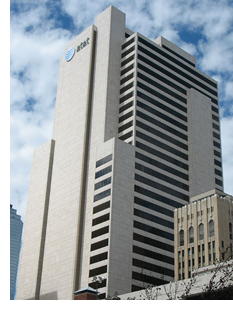 Image of Whitacre Tower in Dallas.