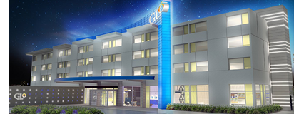A rendering of Best Western's GLō properties.