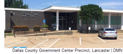 Dallas County Government Center Precinct in Lancaster.