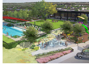 Rendering of expansion in Oak Ranch.