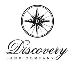 Discovery Land Co. logo.
