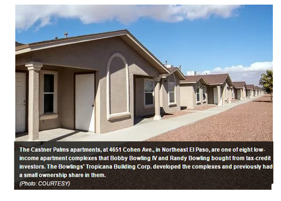 El Paso low-income apartments sold to Bowlings 2017