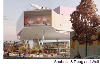 Rendering of El Paso Children's Museum.