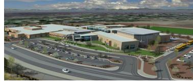 Rendering of Don Haskins school in El Paso.