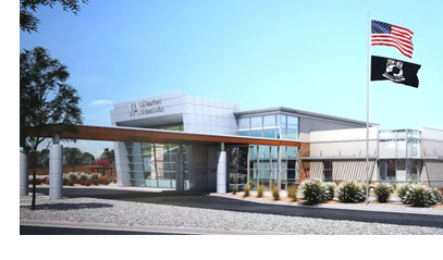 A rendering of the VA mental health facility under construction in El Paso.