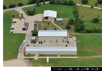 Aerial view of New Republic Studios.