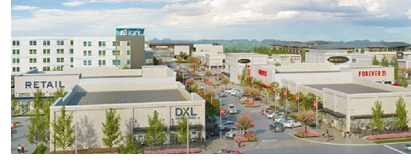 Rendering of Glade Park Town Center