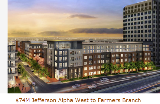 Jefferson Alpha West to Farmers Branch