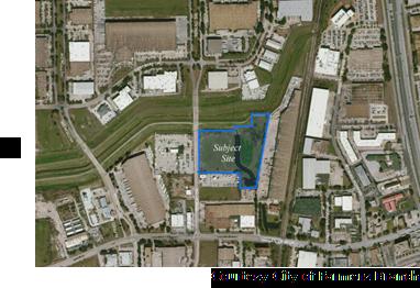 Future site of Valwood Logistics Center
