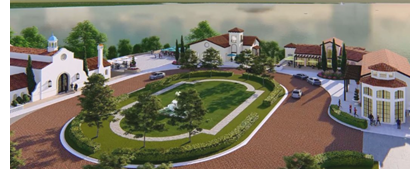 Rendering of Lakeside Village