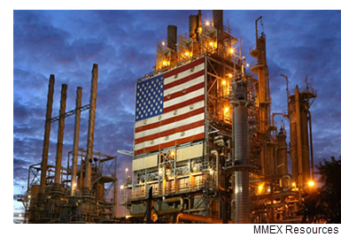 An image from MMEX's website for their Pecos County Refinery Project in Fort Stockton, Texas.