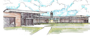 Rendering of All Saints' Episcopal Student Union